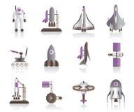 Vaisseau spatial et navettes spatiales Photos stock