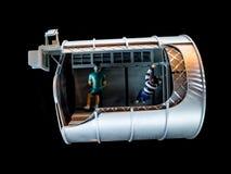 Vaisseau spatial modèle image libre de droits