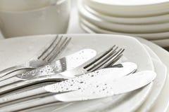 Vaisselle, cuisine Image stock