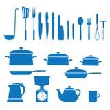 Vaisselle de cuisine Illustration de Vecteur