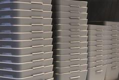 Vaisselle de cuisine en plastique Image stock