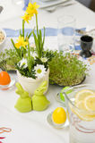 Vaisselle de Pâques Photographie stock libre de droits