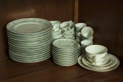 Vaisselle de porcelaine Images stock