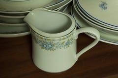 Vaisselle de porcelaine Image libre de droits
