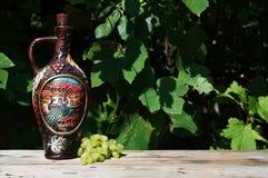 Vaisselle géorgienne pour le vin Photo libre de droits