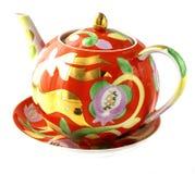 Vaisselle pour le thé, tasse, soucoupe Photographie stock libre de droits