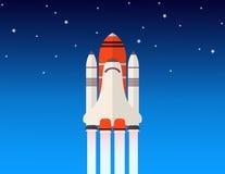 Vaivém espacial Fotografia de Stock Royalty Free