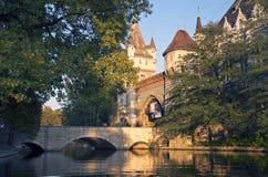 Vajdahunjad Schloss Stockfoto