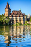 Vajdahunyad城堡在布达佩斯,匈牙利 图库摄影