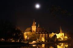 Vajdahunyad城堡在布达佩斯 库存图片