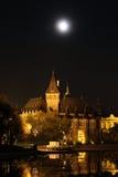 Vajdahunyad城堡在布达佩斯 免版税图库摄影