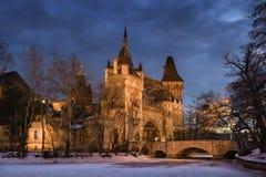 vajdahunyad замока budapest стоковое изображение