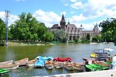 Vajdahunyad Castel, Boedapest Royalty-vrije Stock Afbeelding