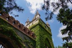 Vajdahunyad Castle Το μεγαλύτερο γεωργικό μουσείο στην Ευρώπη Στοκ φωτογραφία με δικαίωμα ελεύθερης χρήσης