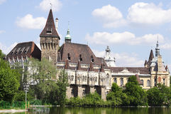 Vajdahunyad castle. In Budapest, Hungary Stock Images