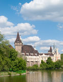 Vajdahunyad Castle Royalty Free Stock Photo
