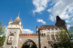 Vajdahunyad Castle Royalty Free Stock Photography