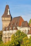 Vajdahunyad castle Budapest. Stock Photos