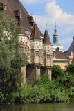 Vajdahunyad castle in Budapest stock photo