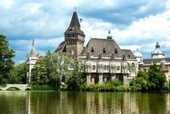 The Vajdahunyad castle, Budapest Stock Images