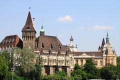 Vajdahunyad castle in Budapest Stock Image