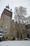 Vajdahunyad castle in Budapest Royalty Free Stock Photography
