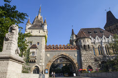 Vajdahunyad Castle in Budapest Royalty Free Stock Images