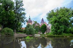 Vajdahunyad Castle Stock Photo