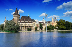 Vajdahunyad castle, Budapest Royalty Free Stock Photography