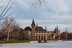 Vajdahunyad Castle in  Budapest, Hungary Stock Images