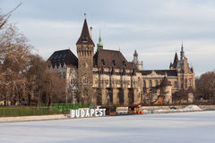 Vajdahunyad Castle in  Budapest, Hungary Stock Photos