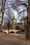 Vajdahunyad Castle in  Budapest, Hungary Royalty Free Stock Photo
