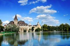 Vajdahunyad castle, Budapest Stock Image