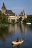 Vajdahunyad Castle in Budapest Stock Photography