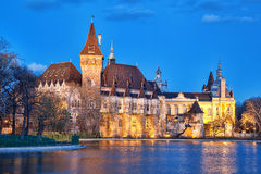 Vajdahunyad castle in  Budapest, Hungary Stock Image