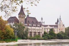 The Vajdahunyad castle, Budapest main city park royalty free stock image