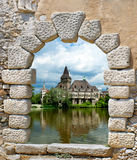 The Vajdahunyad castle, Budapest main city park Royalty Free Stock Image