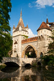 Vajdahunyad castle in Budapest Royalty Free Stock Photos