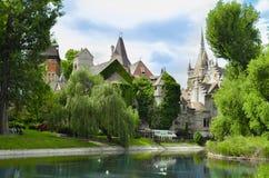 Vajdahunyad Castle, Budapest Stock Photo