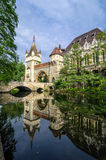 Vajdahunyad Castle in Budapest, Varosliget Royalty Free Stock Images