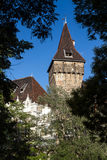 Vajdahunyad Castle is a castle in the City Park of Budapest, Hun Stock Photography