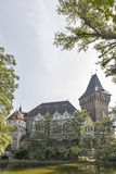 Vajdahunyad Castle in the City Park of Budapest, Hungary. Royalty Free Stock Images