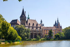 Vajdahunyad Castle view, Budapest Royalty Free Stock Photos