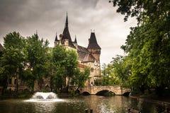 Vajdahunyad kasztel w Budapest obraz royalty free