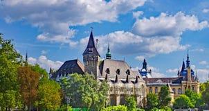 Vajdahunyad Schloss Stockfoto
