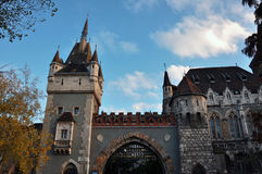 Vajdahunyad Schloss stockfotografie