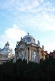 Vajdahunyad Schloss lizenzfreie stockfotos
