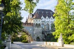 Vajdahunyad-Schloss, Budapest. Ungarn Lizenzfreies Stockbild