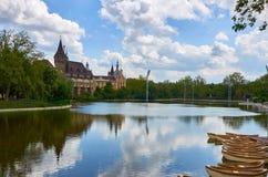 Vajdahunyad slott Arkivbild