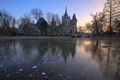 Vajdahunyad slott Arkivfoto